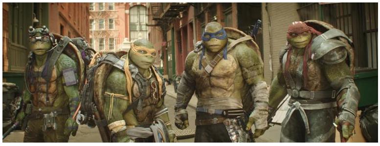 Teenage Mutant Ninja Turtles: Out of the Shadows Review, Family friendly Teenage Mutant Ninja Turtles: Out of the Shadows