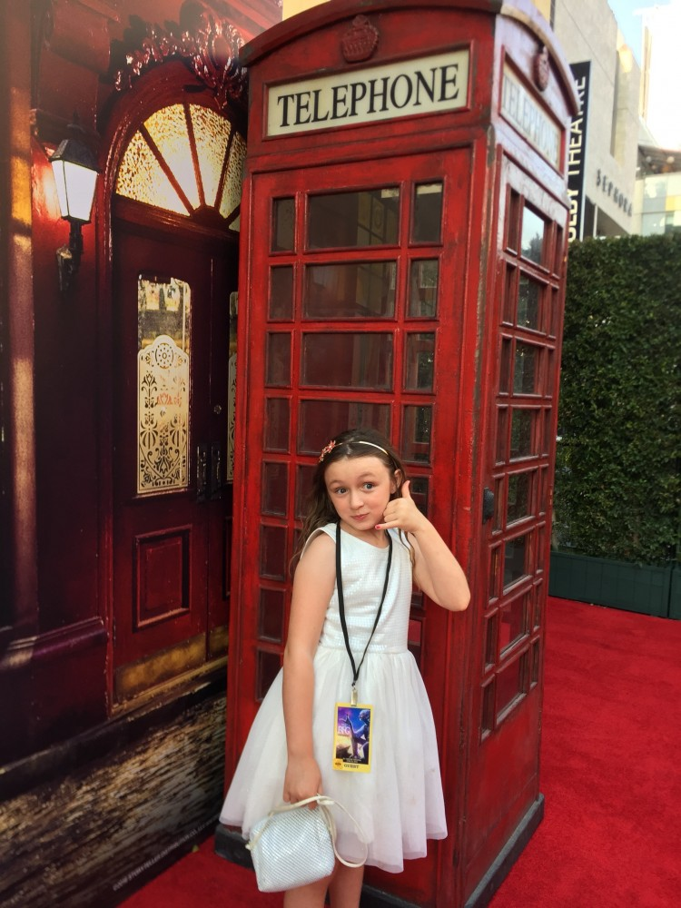 bfg telephone booth premiere