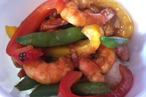 Pacific Chili Shrimp recipe