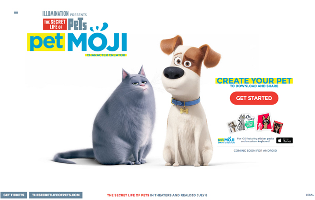 petmoji, The secret life of pets: unleased