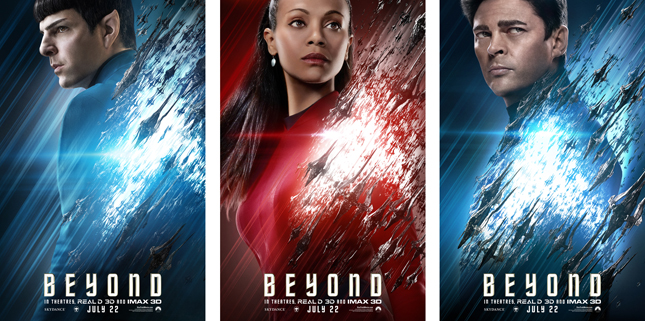 Star Trek and Beyond Trailer