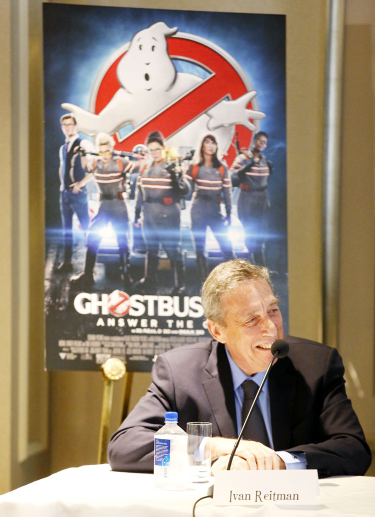 Ivan Reitman Director of original Ghostbusters