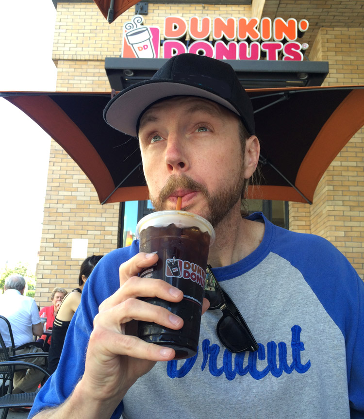 Dunkin Donuts New Cold Brew, Cold Brew