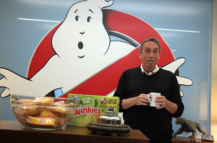 Ivan Reitman, Ghostbusters, Ghost Corps, Sony Studio Tour