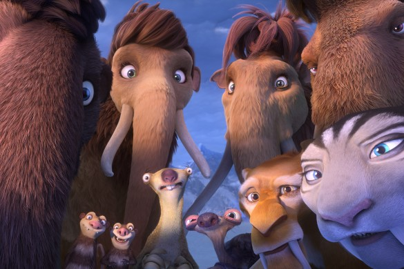 John Lequizamo, Ice Age: Collision Course, Wanda Skyes, Sid the sloth, Granny sloth