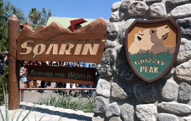 Soarin' Around The World, California Adventure, Disney attractions