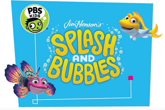 Splash and bubbles, henson company, splash and bubbles premieres PBS KIDS