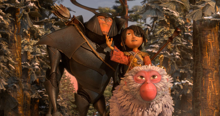 Kubo and the wo strings, laika, Charlize theron, matthew McConaughey