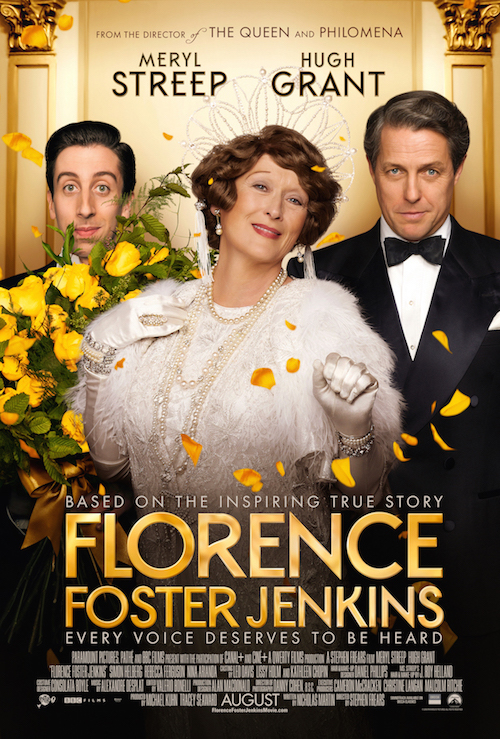 Florence Foster Jenkins, Meryl Streep, Hugh Grant