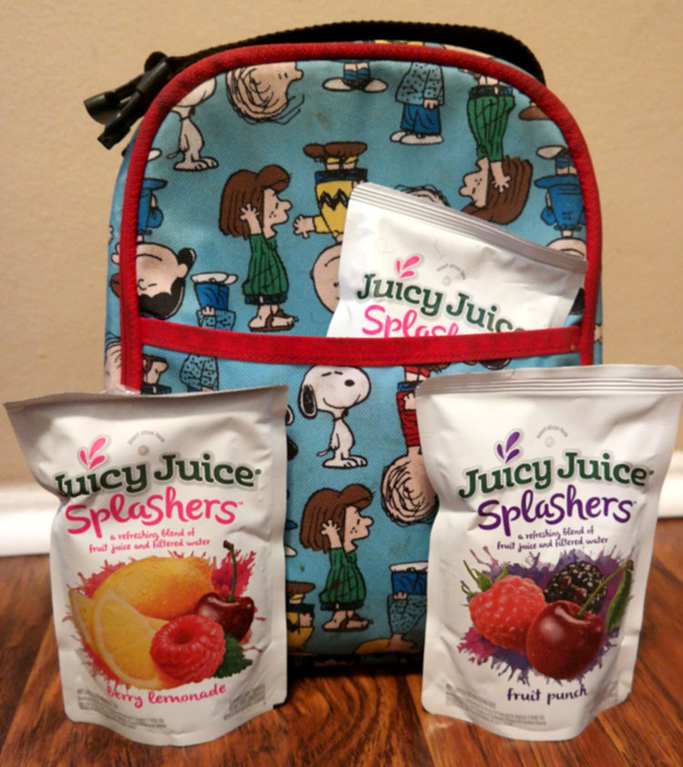 Juicy Juice Splashers, Back to school, juices