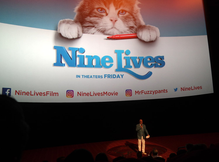 Barry Sonnenfeld, Nine Lives