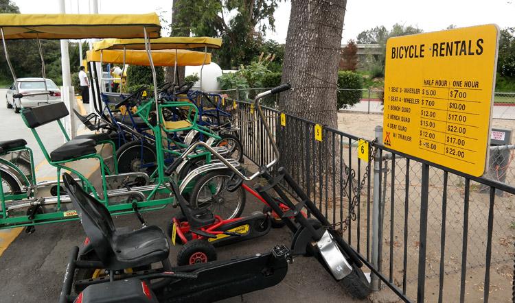 San Diego Metro KOA Bike Rentals