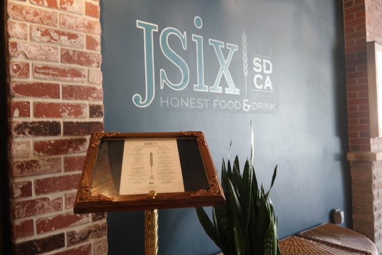 Kimpton Solamar jsix restaurant