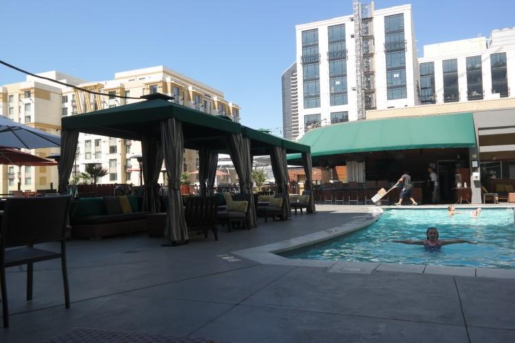 Kimpton Solamar roof top pool