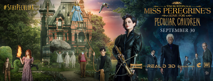 Miss Peregrine's Home for Peculiar Children, tim burton fan ceremony