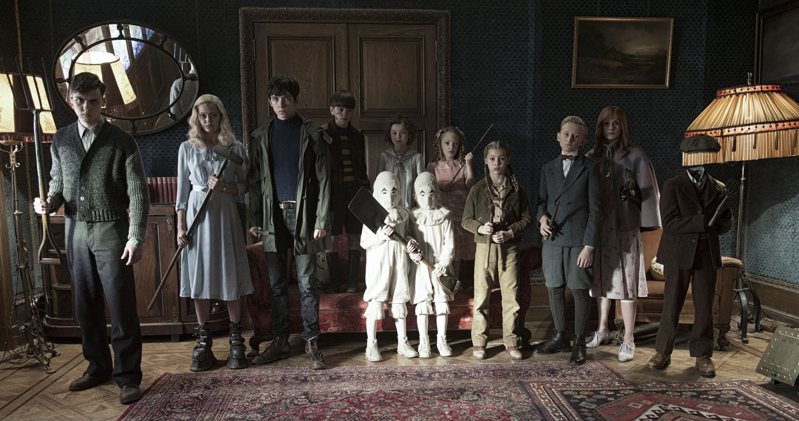 Miss Peregrine's Home for Peculiar Children, Tim Burton Fan Event