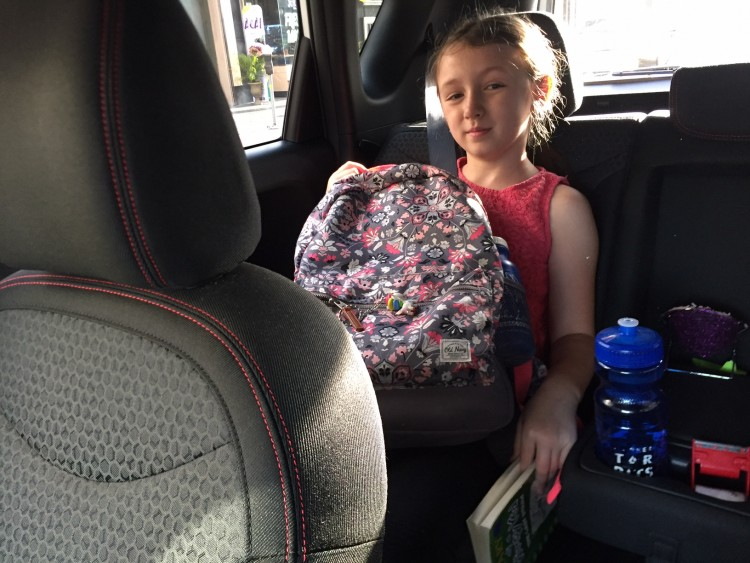 backseat kid kia soul