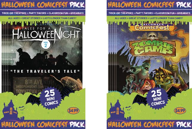 Halloween Comicfest, comicfest pack