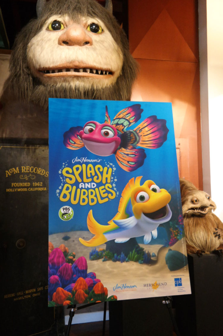 Splash and bubbles, jim henson company, PBS KIDS