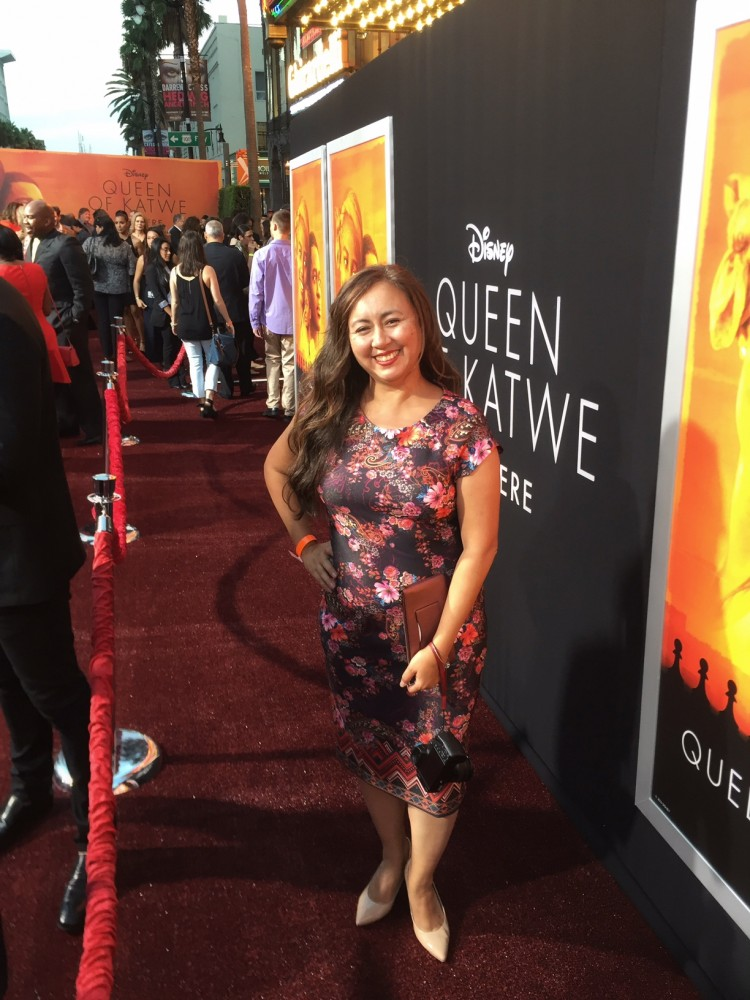 Queen of Katwe premiere in hollywood