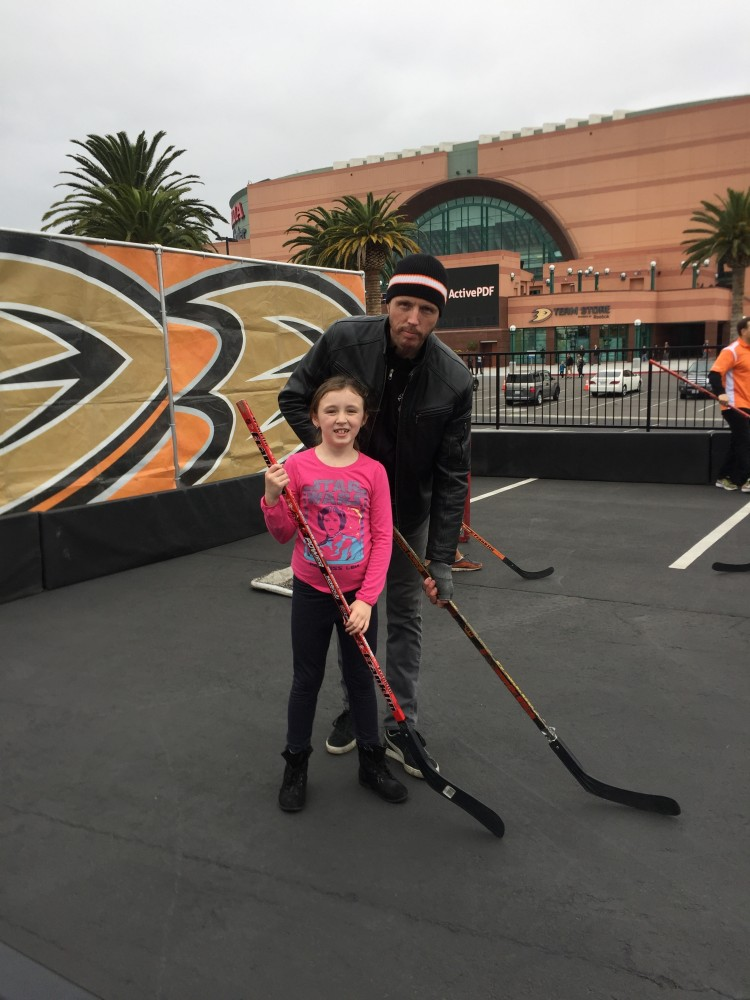family fun with anaheim ducks, Anaheim Ducks Hockey Spot for Families, star wars night
