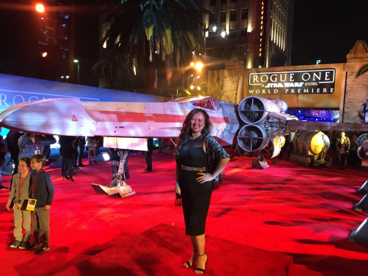 rogue one premiere 2