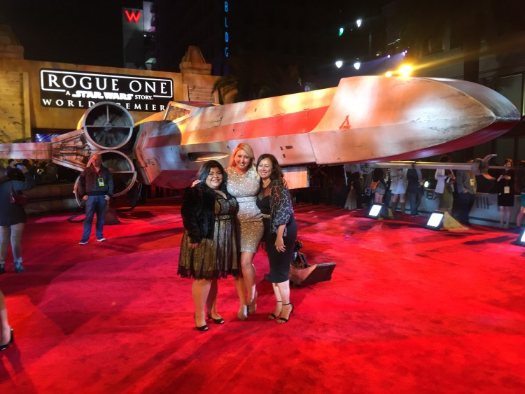 rogue one red carpet