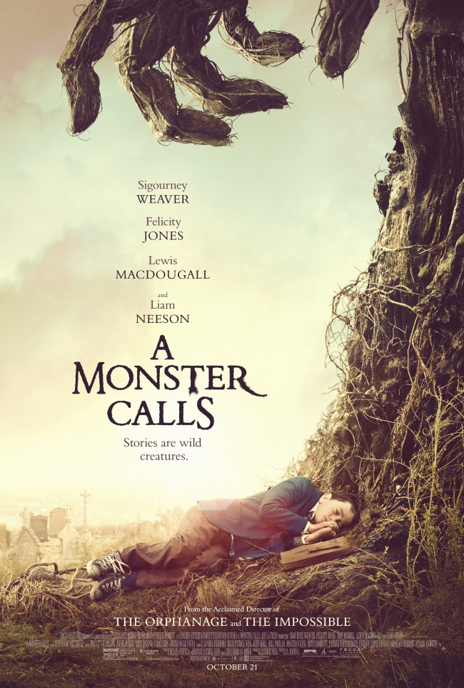 A monster calls, interview with Felicity Jones, Felicity Jones Rogue One