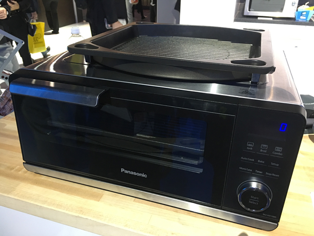 Panasonic new product, CES 2017, Panasonic Oven