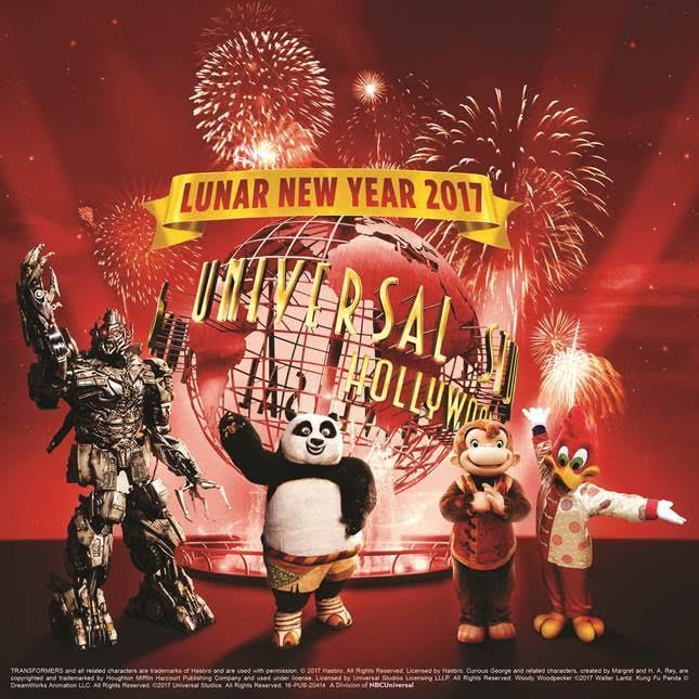 Universal Studios Lunar New Year, Universal Studios Hollywood, Mandarin Megatron