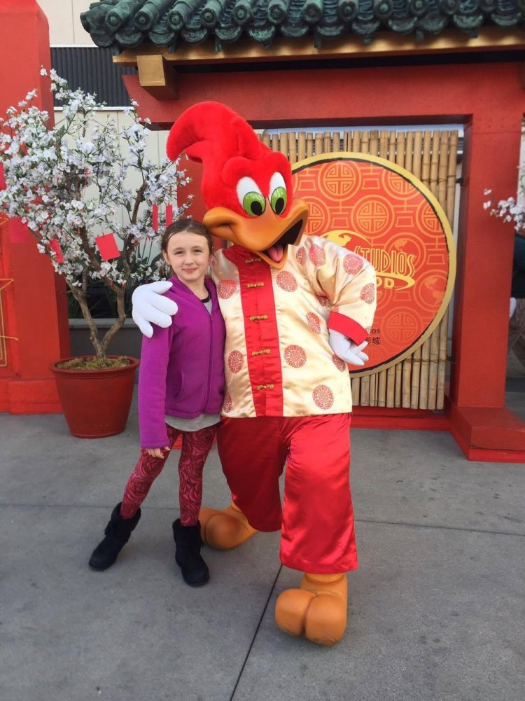 Woody Woodpecker, Universal Studios Hollywood, Lunar New Year Celebration, Universal Studios Hollywood