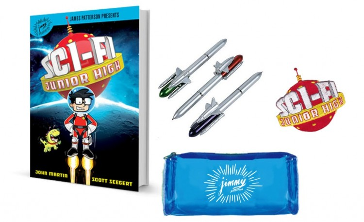 Sci Fi Junior HIgh, james patterson books, book giveaways