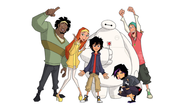 big hero 6 series, marvel's runaways