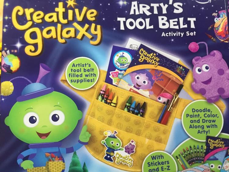 creative galaxzy artys tool belt