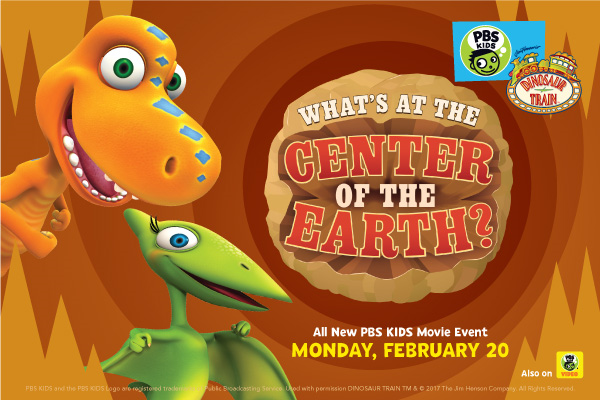 dinosaur train whats at the center of the earth