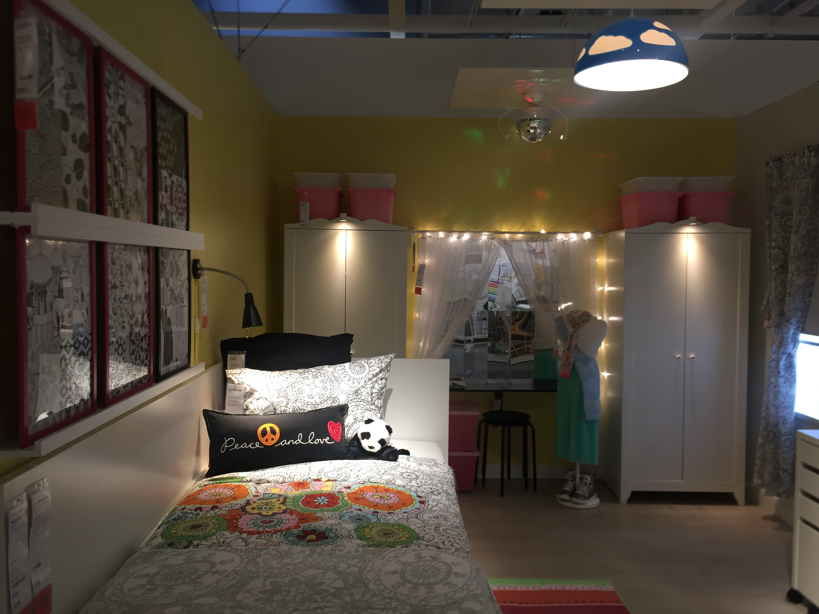 new ikea burbank kids room