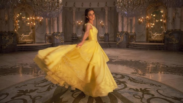 BeautyAndTheBeast behind the scenes facts dress