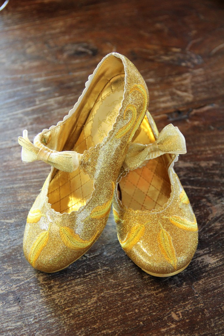 disney store belle costume shoes