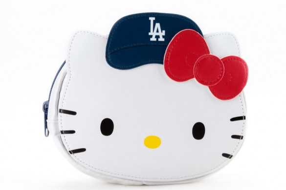 hello kitty x mlb dodgers