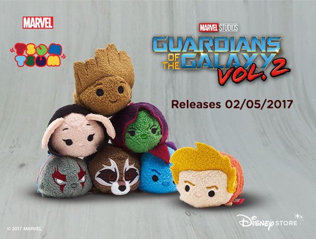 tsum tsum, Guardians of the Galaxy Vol. 2 Collection