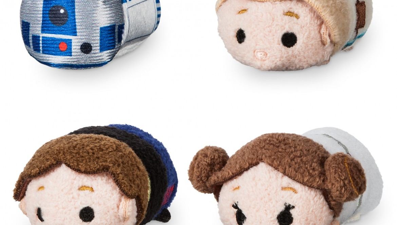 Disney Store Celebrates Star Wars 40th, Millennium falcon tsum tsum set, star wars 40th