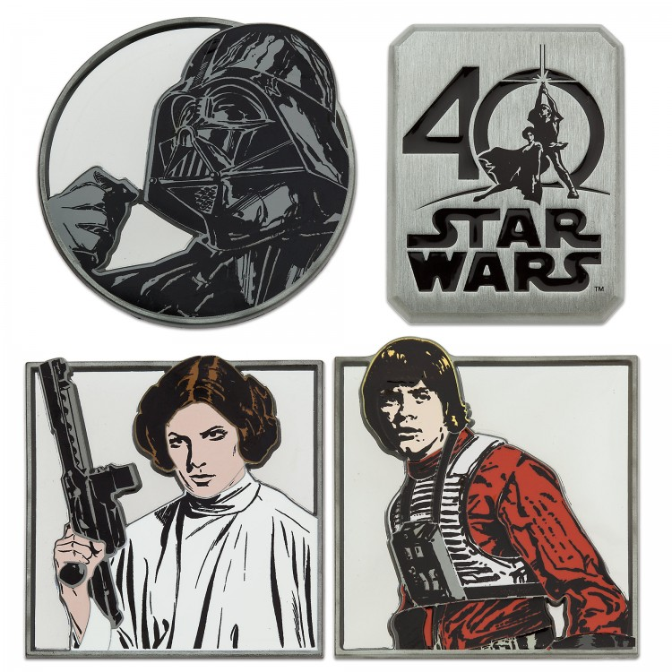 40th anniversary pin set