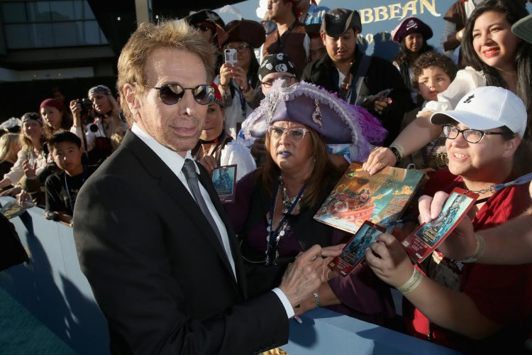 Jerry Bruckheimer, pirates of the caribbean, dead men don't tell a tale