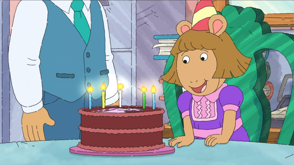 Beastly birthday, D.W.. 5 year old, PBS Kids Author, Birthday special May 29