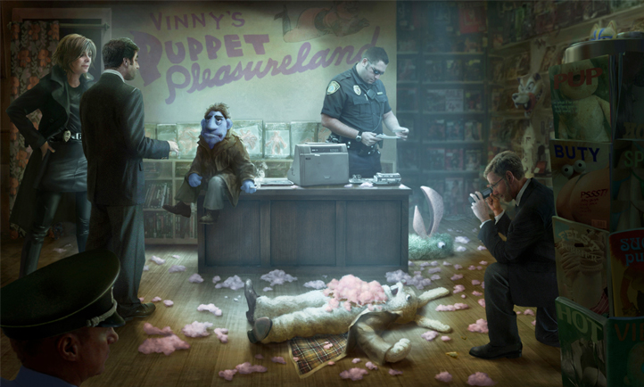 Melissa McCarthy, The Happytime Murders, Brian Henson, STXfilms the happytime murders