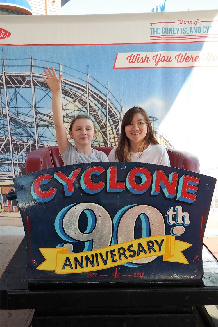 coney island cyclone wooden 90