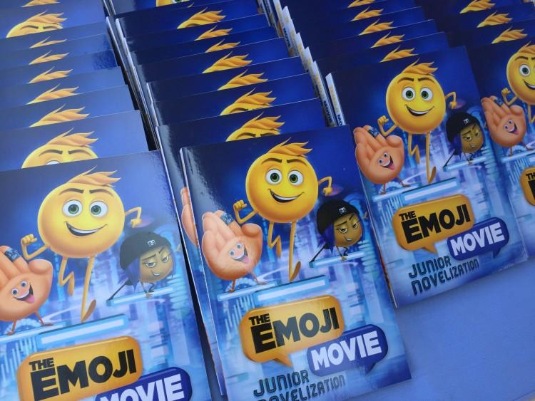 emoji movie book