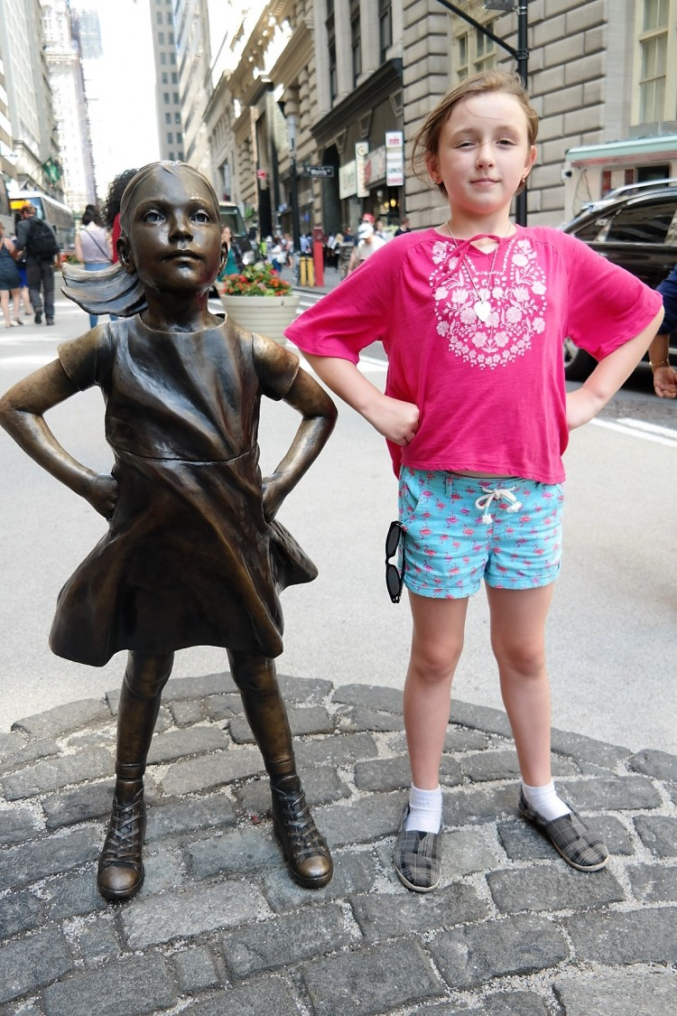 Fearless Girl, Wall Street, Things to do in New York, Kristen Visbal