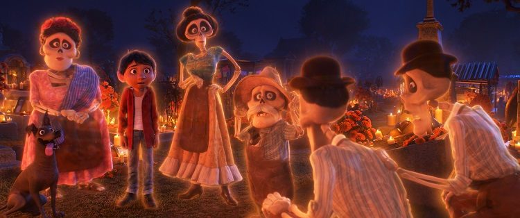 Pixar Coco, coco day of the dead, Lee Unkrich, Adrian Molina, Darla K Anderson,