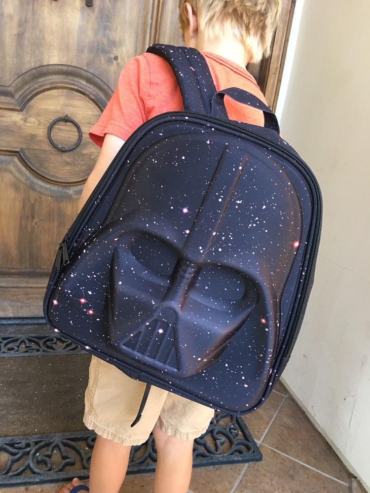 dark vader backpack, disney store, loungefly darth vader